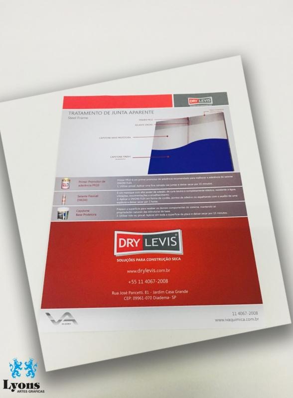 Empresa de Folder Promocional em São Caetano do Sul - Impressão de Folder em São Paulo