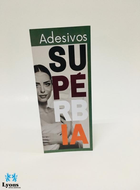 Empresa de Impressão de Folder em Sp na Vila Clementino - Impressão de Folder em São Paulo