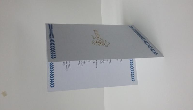 Folder Empresarial em Santo André - Impressão de Folder em São Paulo