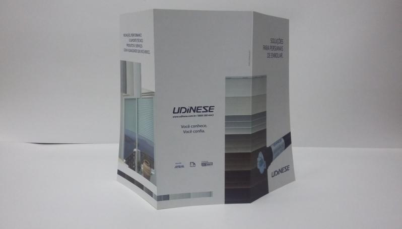 Folder Promocional Preço em Santo Amaro - Impressão de Folder em São Paulo