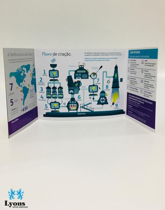 Gráfica para Impressão Digital Interlagos - Impressão Digital em Pvc