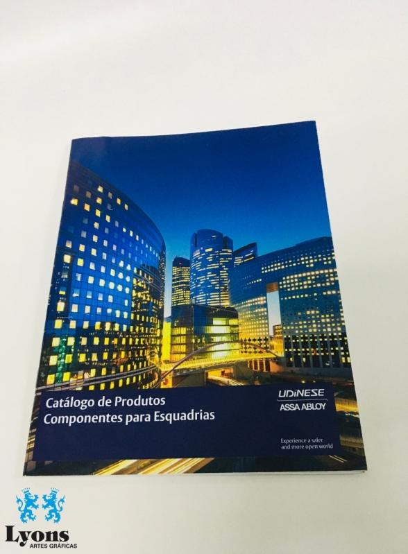 Impressão Catalogo de Produtos Interlagos - Catálogo Personalizado