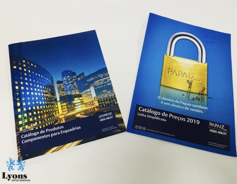 Impressão de Catálogo Personalizado Preço Jardim Paulista - Impressão de Catálogo