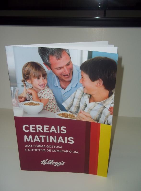 Imprimir Catálogos Online Santo André - Catálogo para Empresa