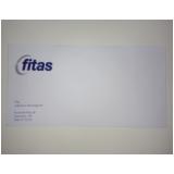 impressão de envelope personalizado