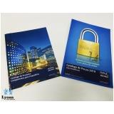 impressão de catálogo personalizado preço Campo Limpo