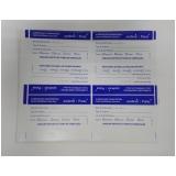 impressão de etiqueta adesiva no Socorro