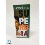 quanto custa Folder Gráfica no Jardim São Luiz